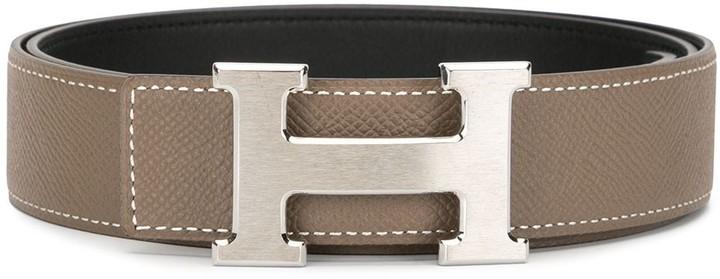 Hermes pre-owned H buckle belt