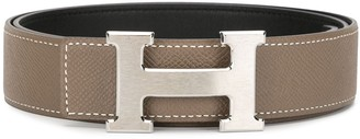 Hermes pre-owned H buckle belt