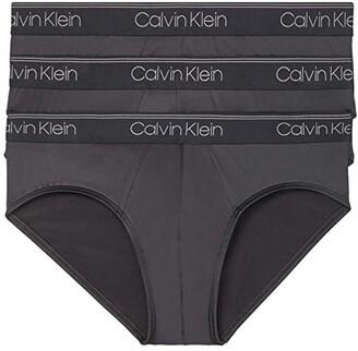 Calvin Klein Underwear Micro Stretch Multipack Brief (Black) Men's Underwear