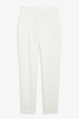 Monki Satin trousers