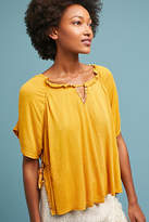 Anthropologie Braylon Peasant Top