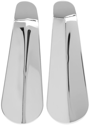 D'heygere Dheygere Silver Shoehorn Earrings