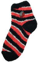 For Bare Feet Portland Trail Blazers Sleep Soft Candy Striped Socks