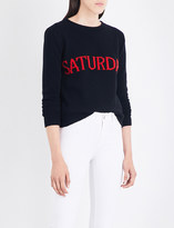 Alberta Ferretti Weekday wool and cashmere-blend jumper