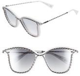 Marc Jacobs Women's 52Mm Cat Eye Sunglasses - Black