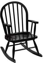 Gift Mark Giftmark Children's Windsor Rocking Chair, One Size, Espresso by GiftMark