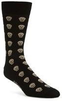 Alexander McQueen Men's Skull Pattern Socks
