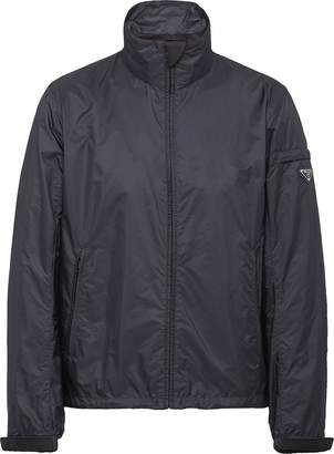 Prada high collar zip-up jacket