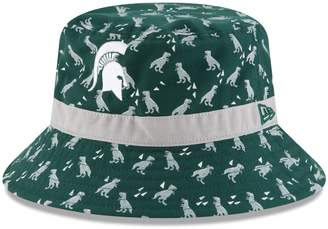 New Era Preschool Green Michigan State Spartans Dino Bucket Hat