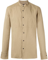 OSKLEN long sleeves shirt - men - Linen/Flax/Viscose - P
