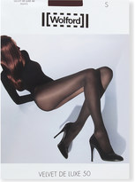 Wolford Velvet de luxe 50 nylon-blend tights