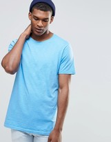 Benetton T-Shirt with Raw Edge Neck