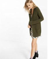 Express shaker knit pocket cover-up