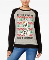 Disney Juniors' Olaf Snowman Sweatshirt