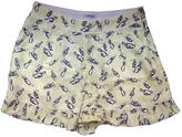 Miu Miu Silk Shorts