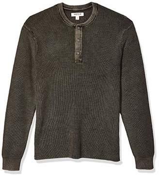 Goodthreads Soft Cotton Henley SweaterMediu