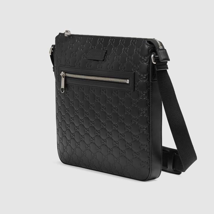 Gucci Signature leather messenger