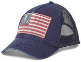 Ralph Lauren Washed Twill Trucker Hat