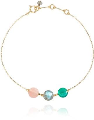 Perle de Lune Trio Pastille Bracelet