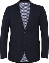 Oxford Auden Wool Lux Suit Jacket Blue X