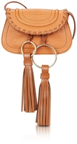 See by Chloe Polly Hazel Leather Mini Crossbody Bag w/Tassels