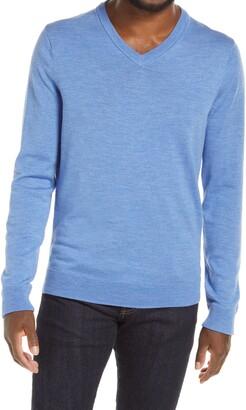 Nordstrom Merino V-Neck Sweater