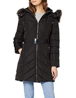 New Look Women's T Belted LL Puffer Coat,(Size:)