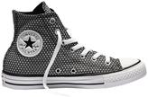 Converse Chuck Taylor All Star Hi 555853 Snake Woven White/Black/Fresh Yellow Sneaker