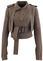 Rick Owens Trench Coat