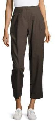 Lafayette 148 New York Pleat-Front Cropped Pants