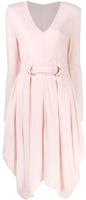 Stella McCartney Lillie asymmetric dress