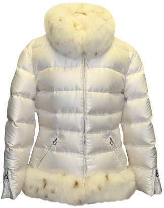 Christian Dior White Fox Coats