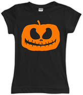 Urban Smalls Black Jack O' Lantern Fitted Tee - Toddler & Girls