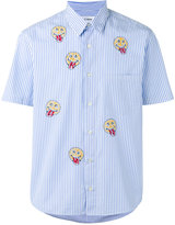 Jimi Roos - smiley face print shirt - men - Cotton - S