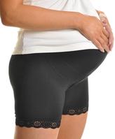 Angelina Black Maternity Modal Boxer Panties