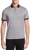 Michael Kors Mosaic Print Regular Fit Polo Shirt