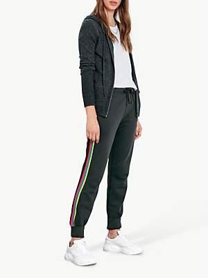 Hush Side Stripe Joggers, Black/Multi Bright