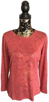 Claudie Pierlot Burgundy Cotton Top for Women