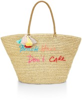 Rebecca Minkoff Straw Tote - Beach Hair Don't Care