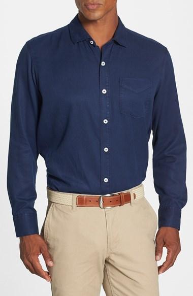Tommy Bahama 'Still Twillin' Island Modern Fit Sport Shirt