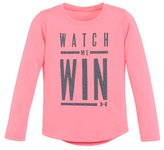 Under Armour Girls' Infant UA Watch Me Win Long Sleeve