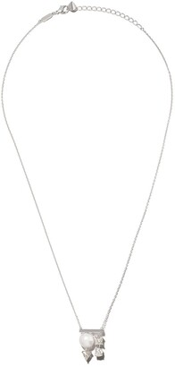 Tasaki 18kt white gold diamond premier Balance necklace