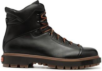 Santoni Side-Zip Boots