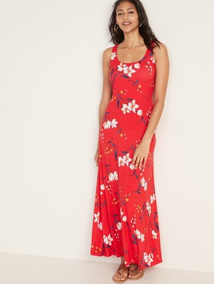 Old Navy Scoop-Neck Jersey Maxi Dress for Women