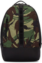 Rag & Bone Green Camo Aviator Backpack