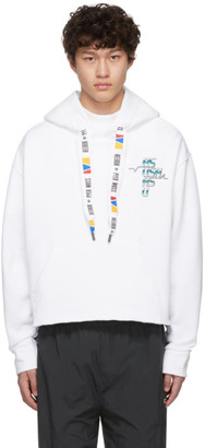 Reebok by Pyer Moss White Collection 3 Franchise Hoodie