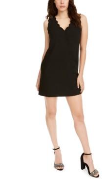 Foxiedox Lina Scalloped Mini Dress