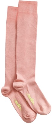 Smalls Merino Women's The Softest Mulesing Free Merino Wool Socks in Misty Rose