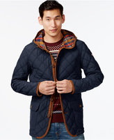 Tommy Hilfiger Big and Tall Guberman Quilted Hooded Coat