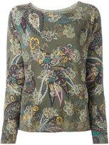 Etro paisley print embellished jumper